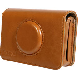 Polaroid Faux Leather Case for Snap Touch Instant Digital Camera (Brown)