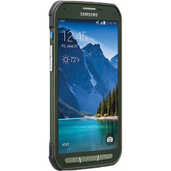 Samsung Galaxy S5 Active SM-G870A 16GB AT&T Branded Smartphone (Unlocked, Green)