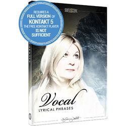 SONUSCORE Lyrical Vocal Phrases - Virtual Instrument & Sample Library (Download)