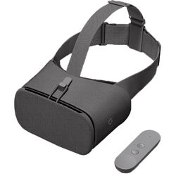 Google Daydream View Virtual Reality Headset 2017 Edition (Charcoal)