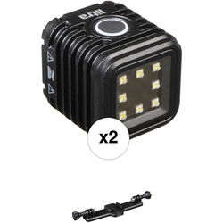 LITRA LitraTorch Photo and Video Light 2-Pack with Triple Mount Kit