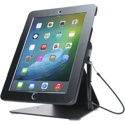 "CTA Digital Desktop Anti-Theft Stand for iPad, iPad Air, and iPad Pro 9.7"" (Black)"
