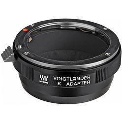Voigtlander Pentax K Lens to Micro Four Thirds Camera Adapter