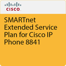 Cisco SMARTnet Extended Service Plan for Cisco IP Phone 8841