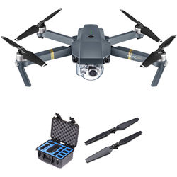 DJI Mavic Pro Kit with GPC Hard Case