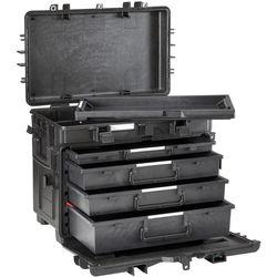 Explorer Cases Copolymer Polypropylene Waterproof 4-Drawer Trolley Tool Case