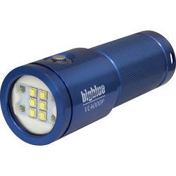 Bigblue VL4000P Video LED Dive Light (Glossy Blue)