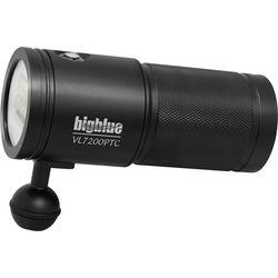 Bigblue VL7200P Tri-Color Video LED Dive Light (Black)