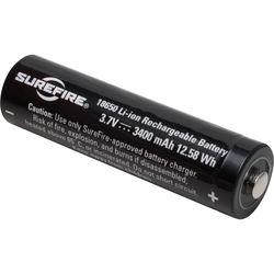 SureFire 18650 Rechargeable Lithium-Ion Battery (3.7V, 3400mAh)