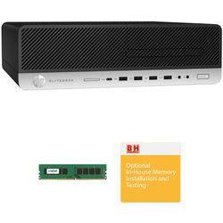 HP EliteDesk 800 G3 Small Form Factor B&H Custom Workstation