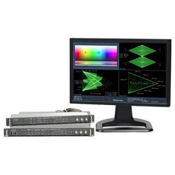 Tektronix Multi-Format Waveform Rasterizer Monitor with External Display (Full Rack, 1 RU)
