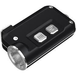 Nitecore Tini Metallic Key Chain Light (Black)