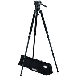Miller CX2 Fluid Head with Solo 75 2-Stage Alloy Tripod System