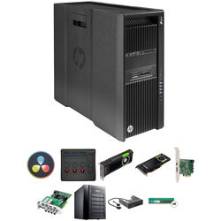 B&H Photo PC Pro Workstation HP Z840 Turnkey with DaVinci Resolve Studio