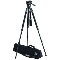 Miller CX6 Fluid Head with Solo 75 2-Stage Carbon Fiber Tripod System