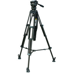 Miller CX8 Fluid Head with Toggle 2-Stage Alloy Tripod System (Mid-Level Spreader)