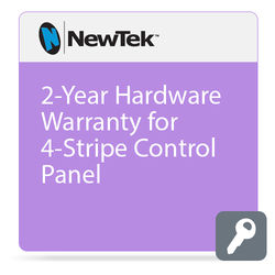 NewTek 2-Year Hardware Warranty for 4-Stripe Control Panel