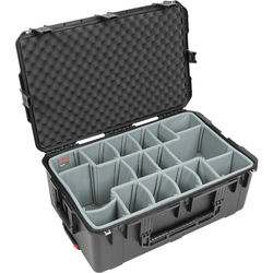 SKB iSeries 2918-10DT Waterproof Case with Think Tank-Designed Photo Dividers & Lid Foam (Black)