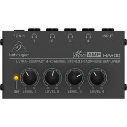 Behringer MicroAMP HA-400 - Headphone Amplifier