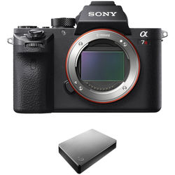 Sony Alpha a7R II Mirrorless Digital Camera with Storage Kit
