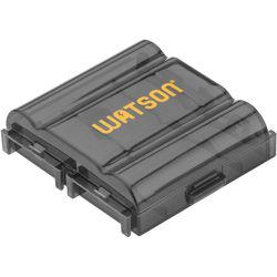 Watson Case for 4 AA or AAA Batteries (Black)