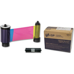 IDP YMCKO Full-Color Ribbon with Overlay Panel for SMART-51 Printers