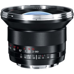 ZEISS Distagon T* 18mm f/3.5 ZE Wide Angle Lens Canon EF Mounts