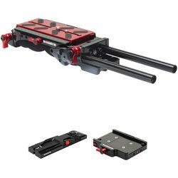 Zacuto VCT Pro Baseplate, VCT Tripod Plate & Tripod Dock Kit