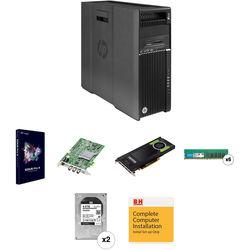 B&H Photo PC Pro Workstation HP Z640 Turnkey with EDIUS Pro 9