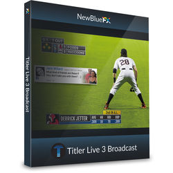 NewTek NewBlueFX Titler Live 3 Broadcast Coupon Code (Download)