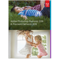 Adobe Photoshop Elements & Premiere Elements 2018 (Windows, Download)