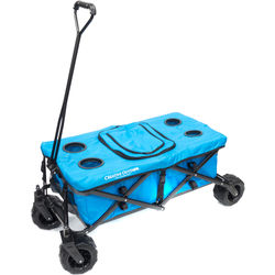 Creative Outdoor Distributor Big Wheel All-Terrain Cooler Wagon (Blue)