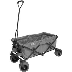 Creative Outdoor Distributor Big Wheel All-Terrain Wagon (Gray)