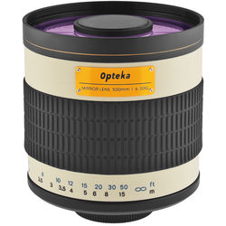 4ab1d588014 Opteka 500mm f 6.3 Mirror Lens for T Mount