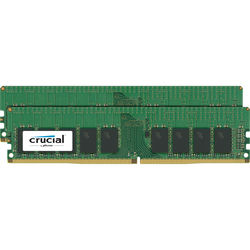 Crucial 32GB DDR4 2666 MHz UDIMM Memory Kit (2 x 16GB)