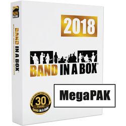 eMedia Music Band-in-a-Box 2018 MegaPAK - Backing Band / Accompaniment Software (Windows, Download)
