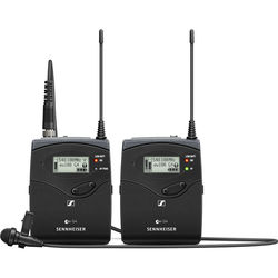 Sennheiser ew 112P G4 Camera-Mount Wireless Microphone System with ME 2-II Lavalier Mic G: (566 to 608 MHz)