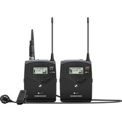 Sennheiser ew 122P G4 Camera-Mount Wireless Microphone System with ME 4 Lavalier Mic A1: (470 to 516 MHz)