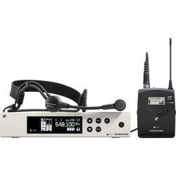 Sennheiser ew 100 G4-ME 3-II Wireless Bodypack System with ME 3-II Cardioid Headset Microphone (G: (566 to 608 MHz))