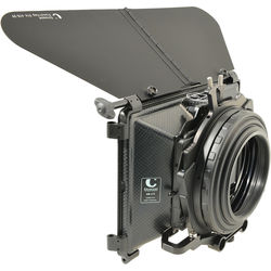 Chrosziel Wide Angle MatteBox Dual Stage with 100mm Rubber Bellows