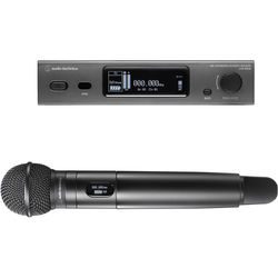 Audio-Technica ATW-3212/C510EE1 3000 Series Fourth Generation Wireless Handheld Microphone System with ATW-C510 Capsule (EE1: 530.000 to 589.975 MHz)