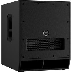 Yamaha DXS15mkII Powered Subwoofer (Black)