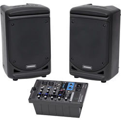 """Samson Expedition XP300 6"""" 2-Way 300W All-In-One Portable Bluetooth-Enabled Stereo PA System"""