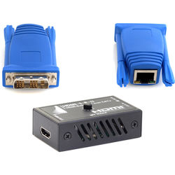 Apantac DVI-D Transmitter to HDMI Receiver over CatX Set (115')