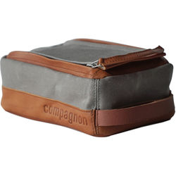 "compagnon ""The Toolbag"" Accessory Case (Gray / Light Brown)"