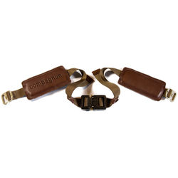 """compagnon """"The Waistbelt"""" Backpack Harness (Dark Brown)"""