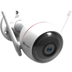 ezviz ezGuard Plus 1080p Outdoor Wi-Fi Bullet Camera with Night Vision & 16GB microSD Card