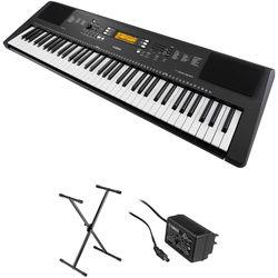 Yamaha PSR-EW300 76-Key Portable Keyboard Kit with Stand and AC Adapter