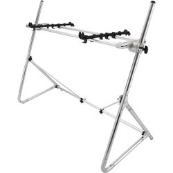 SEQUENZ Standard-M-SV Keyboard Stand for 73/76-Note Keyboards (Silver)