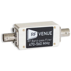 RF Venue RF Band-Pass Filter (470 to 560 MHz)